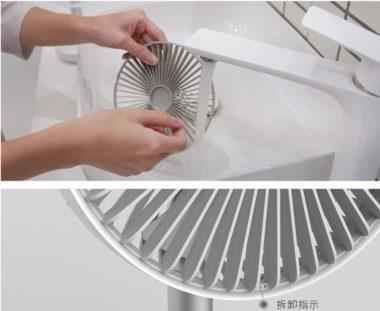 Desktop USB Charging Fan wash