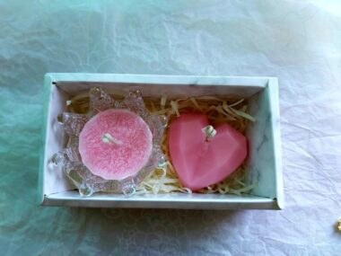 Crown candle box set